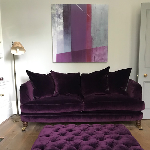 ww/assets/images/hls/customer images/4 Helmsley 3 Seater Sofa and Pentlow Footstool is Portland Deep Purple