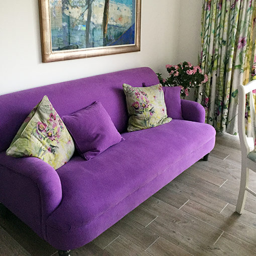 ww/assets/images/hol/customer images/2 Holmfirth 3 Seater Sofa in Romo Linara Passion Flower