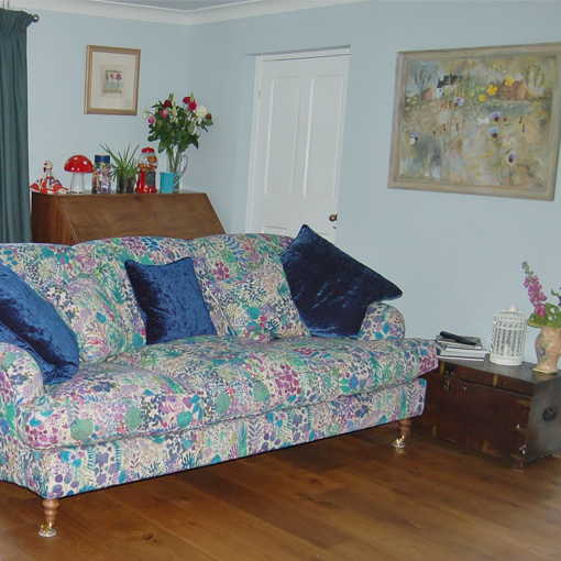 ww/assets/images/kll/customer images/4 Kentwell 3 Hump 3 Seater Sofa in Liberty Linen Fresco Lagoon