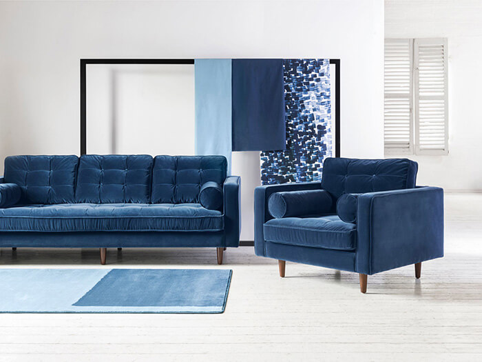 ttps://zoom.sofasandstuff.com/assets/images/may/Hero Images/chr/1 Haggerston Chair with 3 Seater Sofa in Fontwell Velvet Navy.jpg