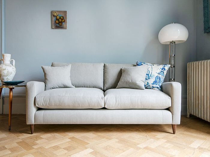 1 Rye sofa 3 Seater Herringbone Shadow