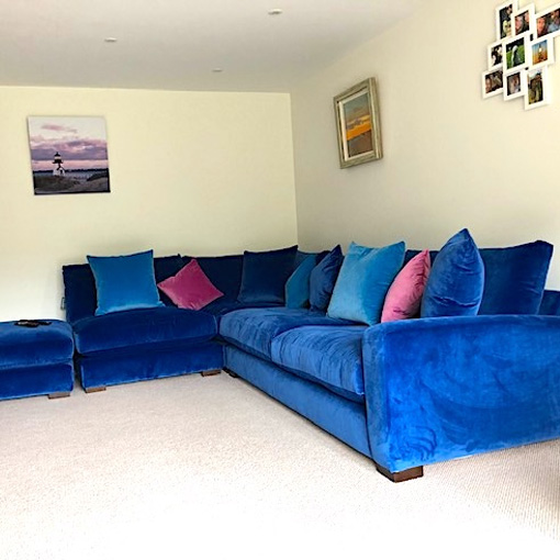 ww/assets/images/sck/customer images/3 Stockbridge Corner Sofa in Portland Velvet Azure