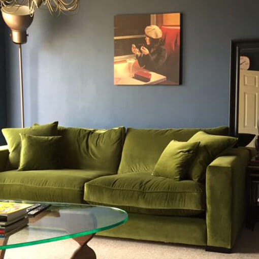 ww/assets/images/sth/customer images/2 Stourhead 3 Seater Sofa in Linwood Velvet Moss