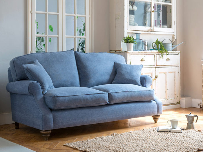 2 St Mawes 3 Seater Sofa in Clarke & Clarke Laval