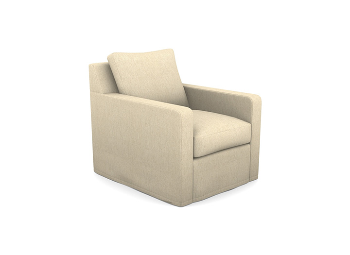 1 Stopham Chair in House Linen Cotton Sugar Beet