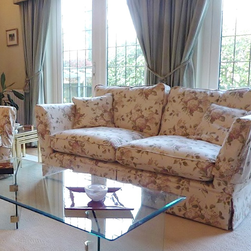 ww/assets/images/wey/customer images/3 Weybourne fitted 2 Seater Sofa in Swaffer Legacy Hortensia Cotton