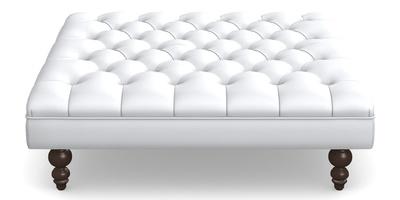 Square footstool