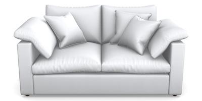 2 Seater Straight Arm Sofa