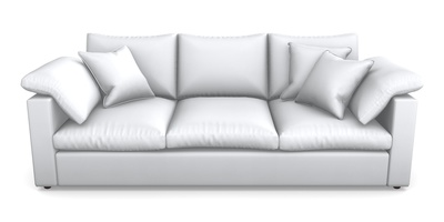 4 Seater Straight Arm Sofa
