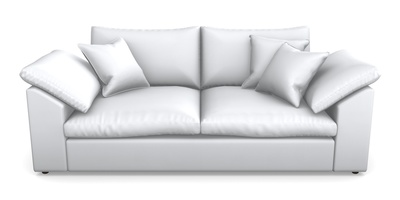 Sloped Arm 3 Seater Sofa