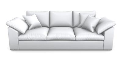 Sloped Arm 4 Seater Sofa