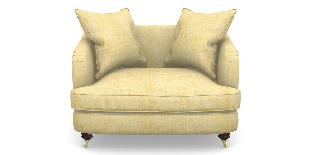 Helmsley Snuggler In Textured Plain Corn