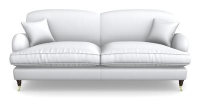 4 Seater, 2 Hump Split Sofa