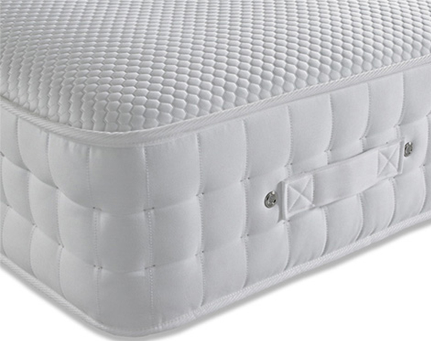 Memory 3000 Pocket Spring Hypoallergenic Mattress angle