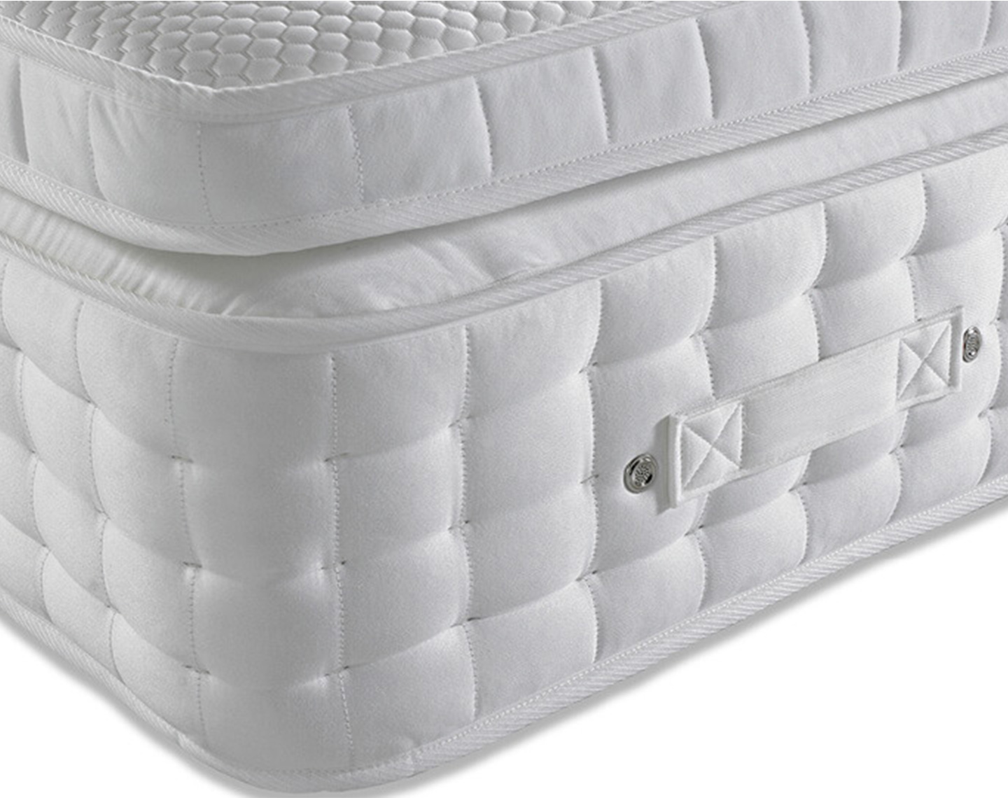 Pillow Top 4000 Pocket Spring Mattress angle
