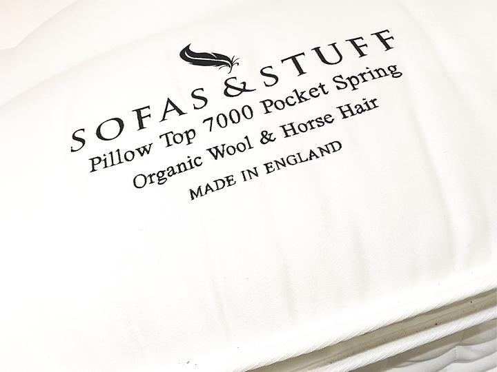 Pillow Top 7000 Pocket Spring Mattress front